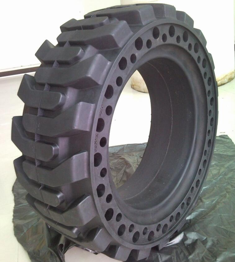 Solid Skidsteer Tires